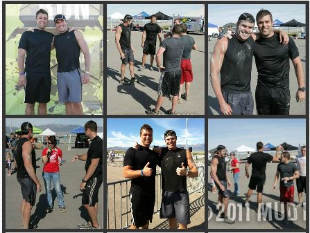 Friends at Mud Run