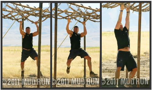 Josh at Mud Run